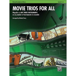 Movie Trios for All - Piano/Conductor, Oboe