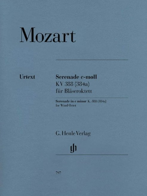 View larger image of Mozart Serenade C Minor KV388 -(384a) - (Wind Octet)