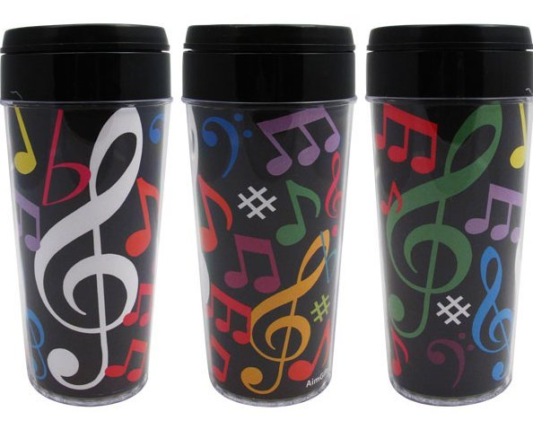 View larger image of Multi Note Travel Tumbler - 16oz