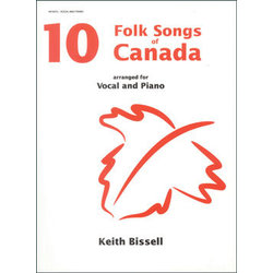 10 Folksongs of Canada - Vocal/Piano