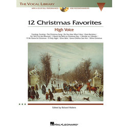 12 Christmas Favourites w/CD - High Voice