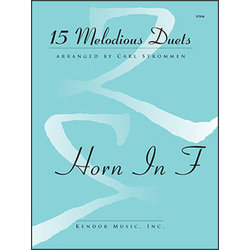 15 Melodious Duets - Horn in F Duet