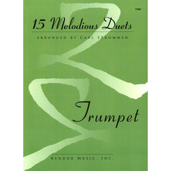 15 Melodious Duets - Trumpet