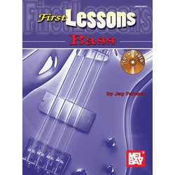 Music: 1st Lessons Bass Book (Book/CD Set)