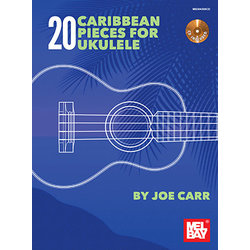 Music: 20 Caribbean Pieces for Ukulele w/CD