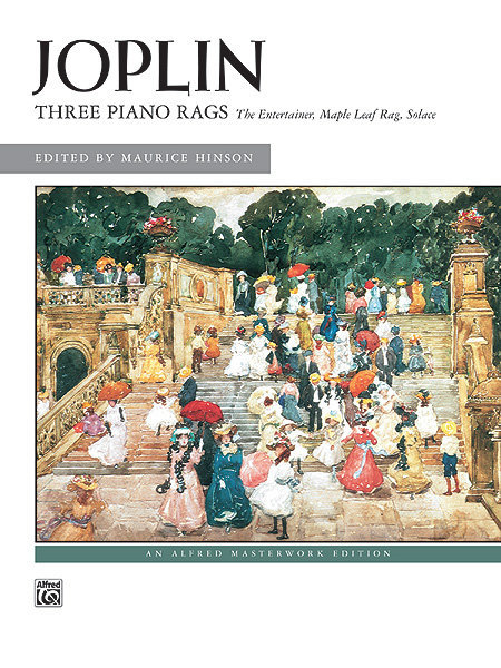 View larger image of Three Piano Rags (Joplin)