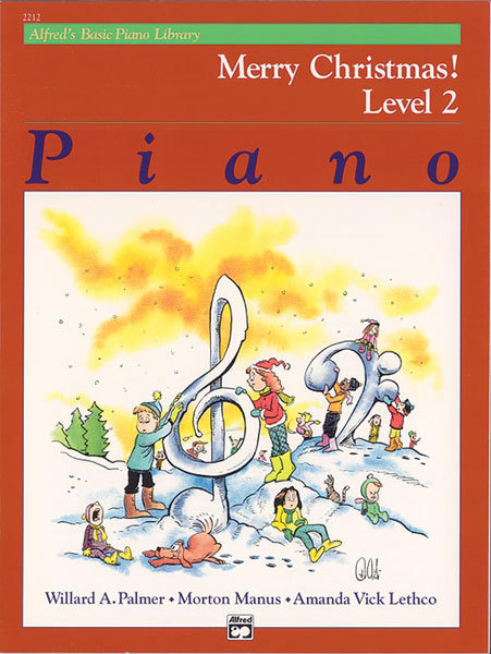 View larger image of Alfred's Basic Piano Library: Merry Christmas! Book 2