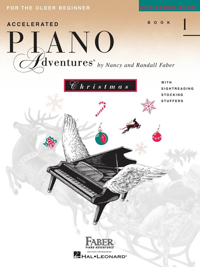 View larger image of Accelerated Piano Adventures for the Older Beginner Christmas - Book 1