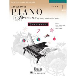 Accelerated Piano Adventures for the Older Beginner Christmas - Book 1
