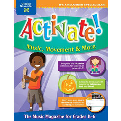Activate! - October/November 2015 Issue (K-6)