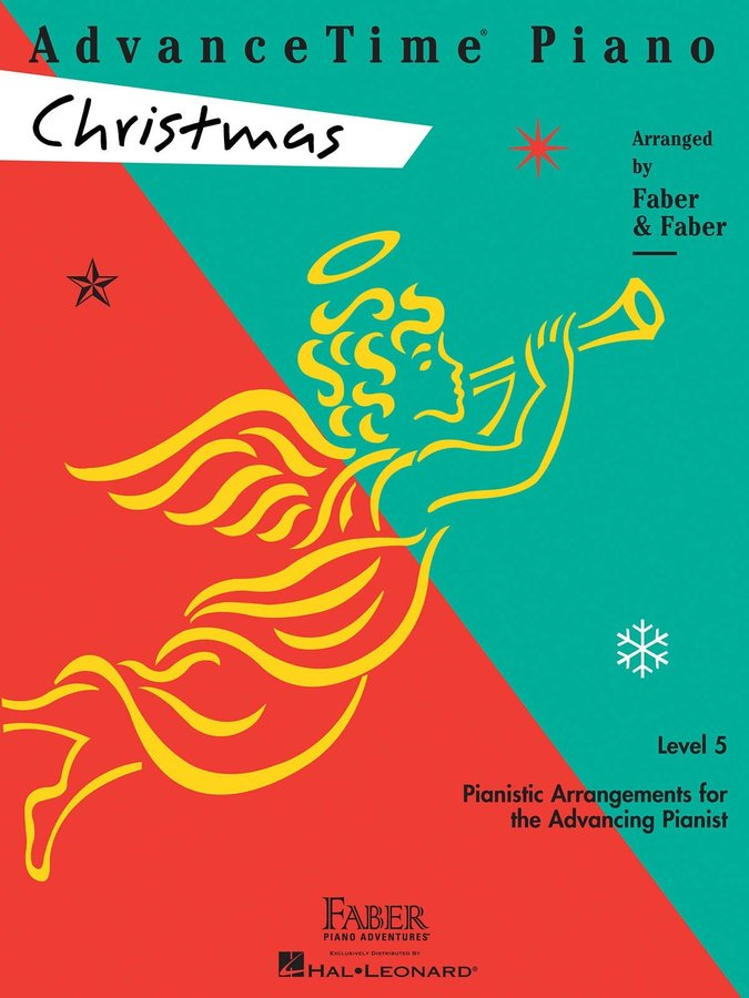 View larger image of AdvanceTime Piano Level 5 - Christmas