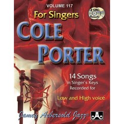 Jamey Aebersold Jazz, Volume 117: Cole Porter for Singers w/2CD