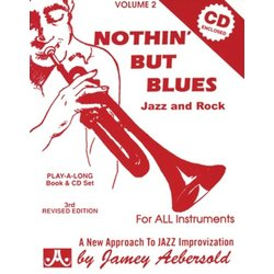 Jamey Aebersold Jazz, Volume 2: Nothin' but Blues Jazz and Rock w/CD
