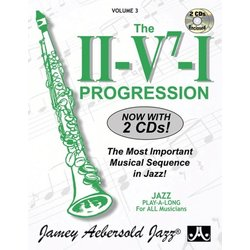 Jamey Aebersold Jazz, Volume 3: The II/V7/I Progression w/2CD