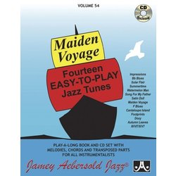Jamey Aebersold Jazz, Volume 54: Maiden Voyage w/CD