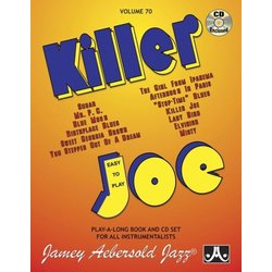 Jamey Aebersold Jazz, Volume 70: Killer Joe w/CD