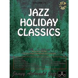 Jamey Aebersold Jazz, Volume 78: Jazz Holiday Classics w/CD