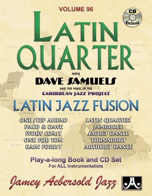 View larger image of Jamey Aebersold Jazz, Volume 96: Latin Quarter w/CD