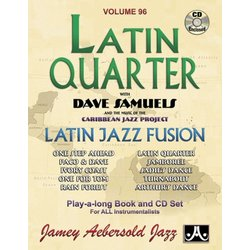 Jamey Aebersold Jazz, Volume 96: Latin Quarter w/CD