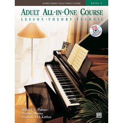 Alfred's Basic Adult All-In-One Course, Book 3 w/CD