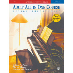 Alfred's Basic Adult All-In-One Course, Book 2 w/CD
