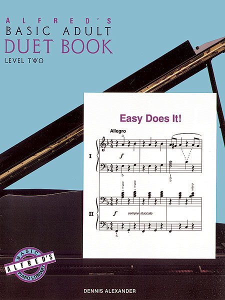View larger image of Alfred's Basic Adult Piano Course Duet Book, Book 2