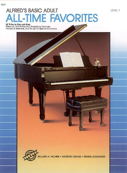 View larger image of Alfred's Basic Adult Piano Course All-Time Favorites, Book 1