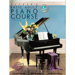 Alfred's Basic Adult Piano Course Lesson Book, Level 3 w/CD