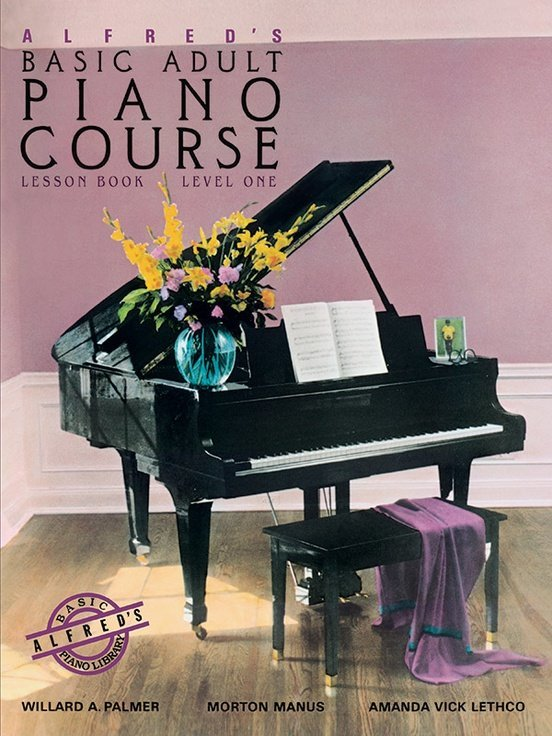 View larger image of Alfred's Basic Adult Piano Course Lesson Book, Level 1 (CD Only)