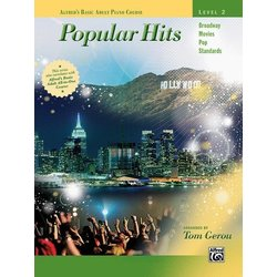 Alfred's Basic Adult Piano Course - Popular Hits, Level 2