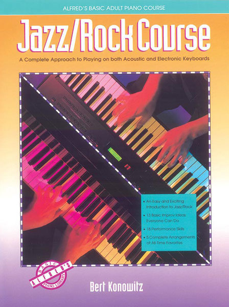 View larger image of Alfred's Basic Adult Jazz/Rock Course