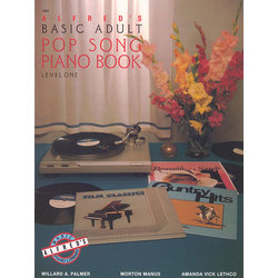 Alfred's Basic Adult Piano Course Pop Song Book, Book 1