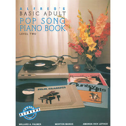 Alfred's Basic Adult Piano Course Pop Song Book, Book 2