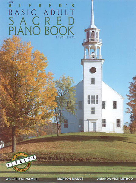 View larger image of Alfred's Basic Adult Piano Course Sacred Book, Book 2