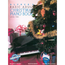 Alfred's Basic Adult Piano Course Christmas, Book 2