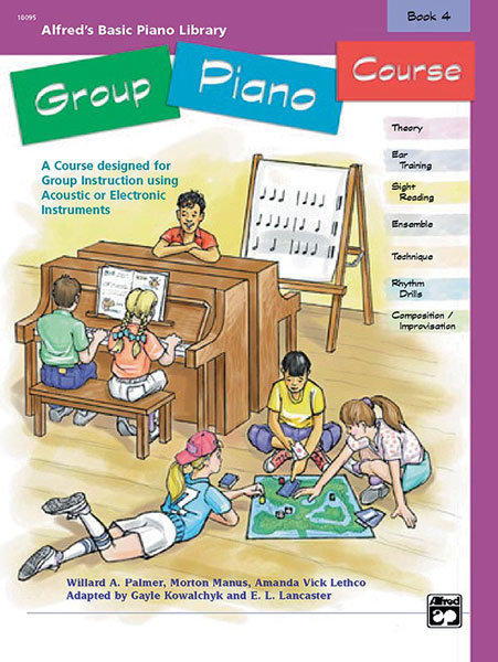 View larger image of Alfred's Basic Group Piano Course, Book 4