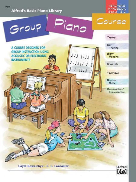 View larger image of Alfred's Basic Group Piano Course: Teacher's Handbook for Books 1 & 2