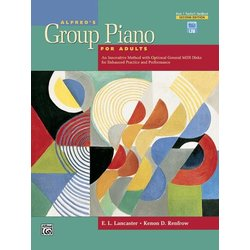 Alfred's Group Piano for Adults Teacher's Handbook, Book 1