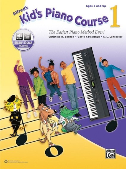 View larger image of Alfred's Kid's Piano Course 1 w/Online Audio