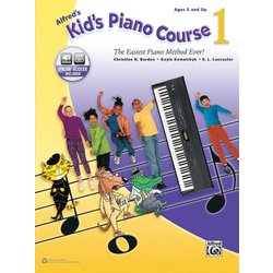 Alfred's Kid's Piano Course 1 w/Online Audio