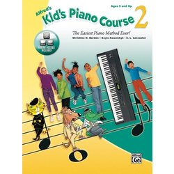 Alfred's Kid's Piano Course 2 w/Online Audio & Video