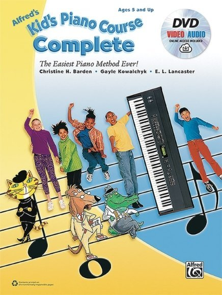 View larger image of Alfred's Kid's Piano Course, Complete w/DVD & Online Video/Audio