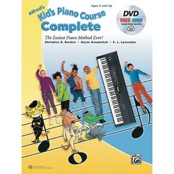 Alfred's Kid's Piano Course, Complete w/DVD & Online Video/Audio
