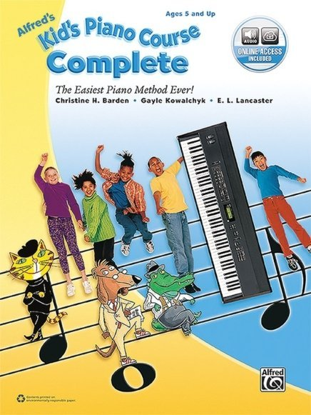View larger image of Alfred's Kid's Piano Course, Complete w/Online Audio