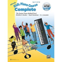 Alfred's Kid's Piano Course, Complete w/Online Audio