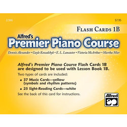 Premier Piano Course 1B - Flash Cards