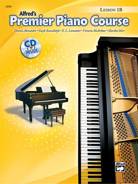 View larger image of Premier Piano Course 1B - Lesson w/CD