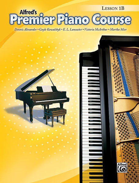 View larger image of Premier Piano Course 1B - Lesson