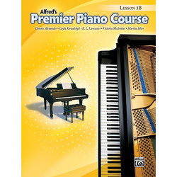 Premier Piano Course 1B - Lesson
