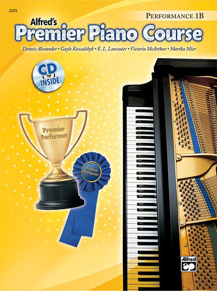 View larger image of Premier Piano Course 1B - Performance w/CD